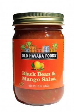 Black Bean and Mango Salsa from Old Havana Foods