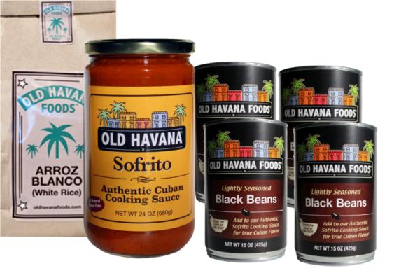 Old Havana Foods Frijoles Negros Meal Kit (large)
