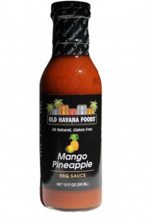 Old Havana Foods Mango Pineapple BBQ Sauce