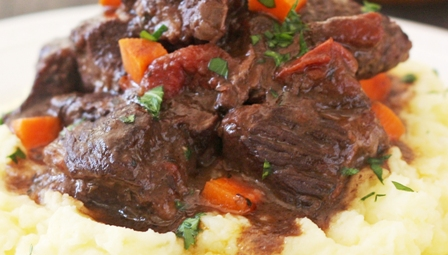 Braised Beef Short Ribs with Wine from Old Havana Foods