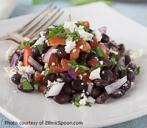 Black Bean Feta Salad from Old Havana Foods