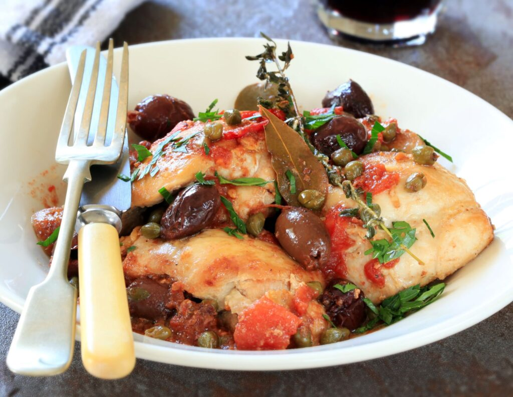 Chicken Cacciatore from Old Havana Foods