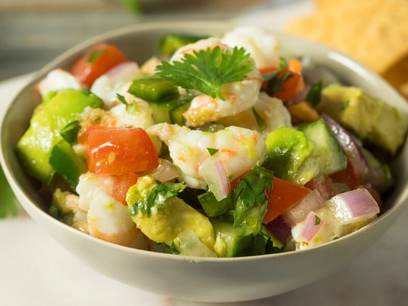 Seafood Ceviche with Avocado from Old Havana Foods
