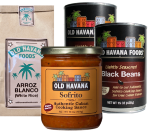Small Frijoles Negros Meal Kit from Old Havana Foods